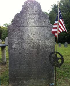 Captain Enoch Newton [abt. 1740 – 5 Mar. 1817] Revolutionary War Patriot