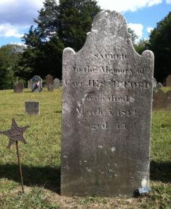 Captain Jesse Ford [1 Nov. 1736 – 5 Mar. 1812] Revolutionary War Patriot